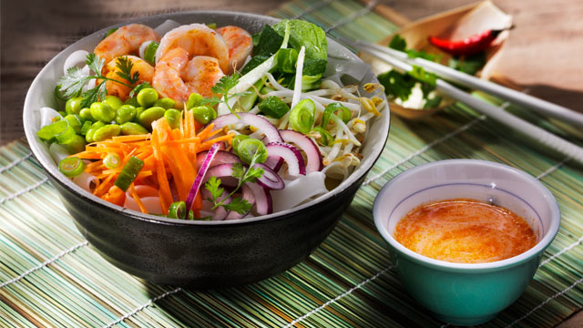 Nr. 5 – Monsieur Tri's Prawn Bowl